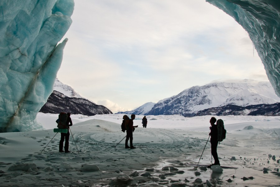 Nizina Glacier Cave