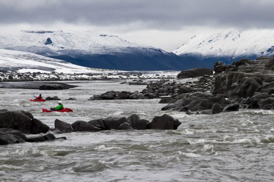 Snowy Jökulsá á Fjöllum