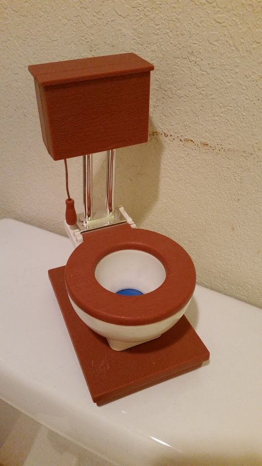 Toilet piggy bank
