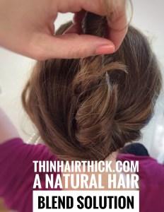 Natural Hair Blend Solution