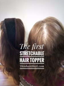 stretchable hair topper