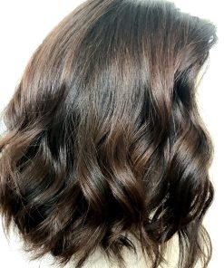 Highlighted Espresso Wig
