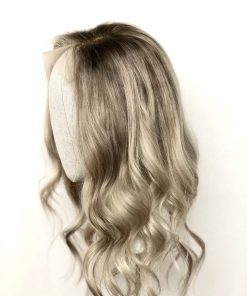 THT Lace Top Lowlighted Ash Blonde