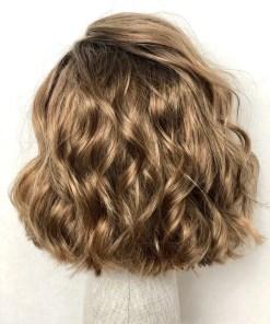 THT Wig: Dark Honey Blonde Wavy