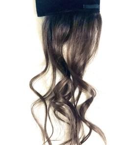 dark brown human hair