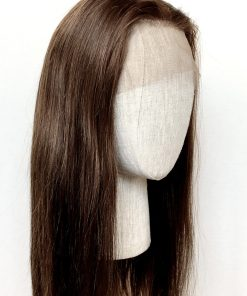 THT Topper: Lace Front Medium Brown – Long Length