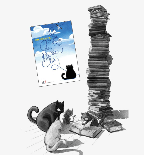 Chuyện con mèo dạy hải âu bay - Thinhnotes.com