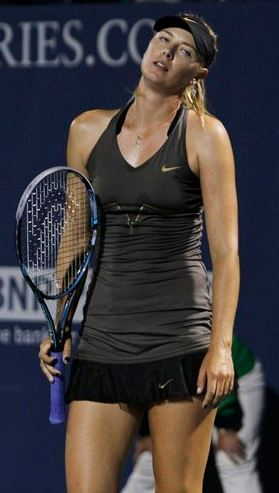 Maria Sharapova Court Style Moments11