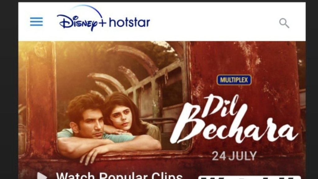 When And Where To Watch Dil Bechara Online