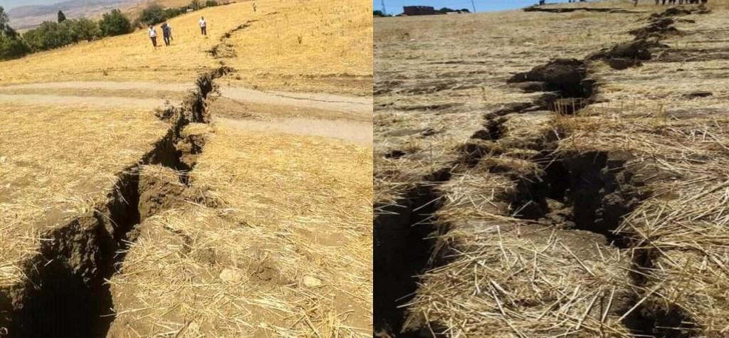 The Ground Split In Algeria
