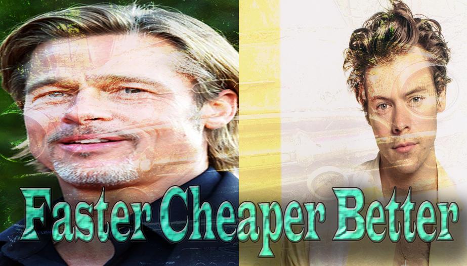 Brad Pitt Alongside Harry Styles In Faster Cheaper Better Movie
