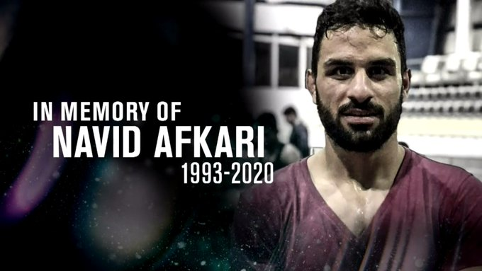 IRAN Has Executed A Champion Wrestler Navid Afkari