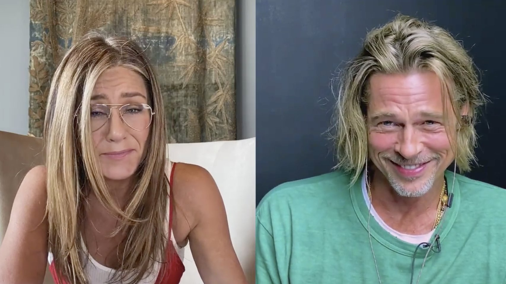 Brad Pitt And Jennifer Aniston Reunite