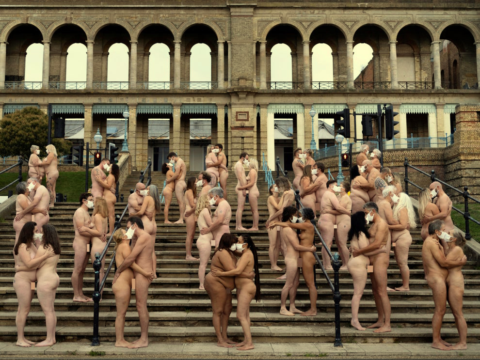 Alexandra Palace Witnessed 220 Masked Volunteers Strip Naked