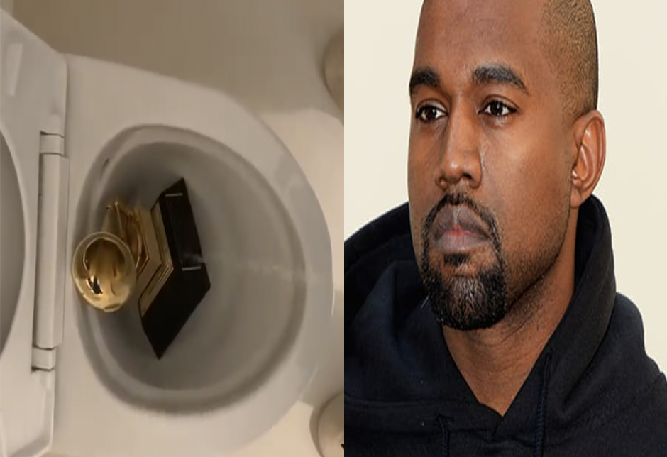 Why kayne West Pee On His Grammy Awards ?