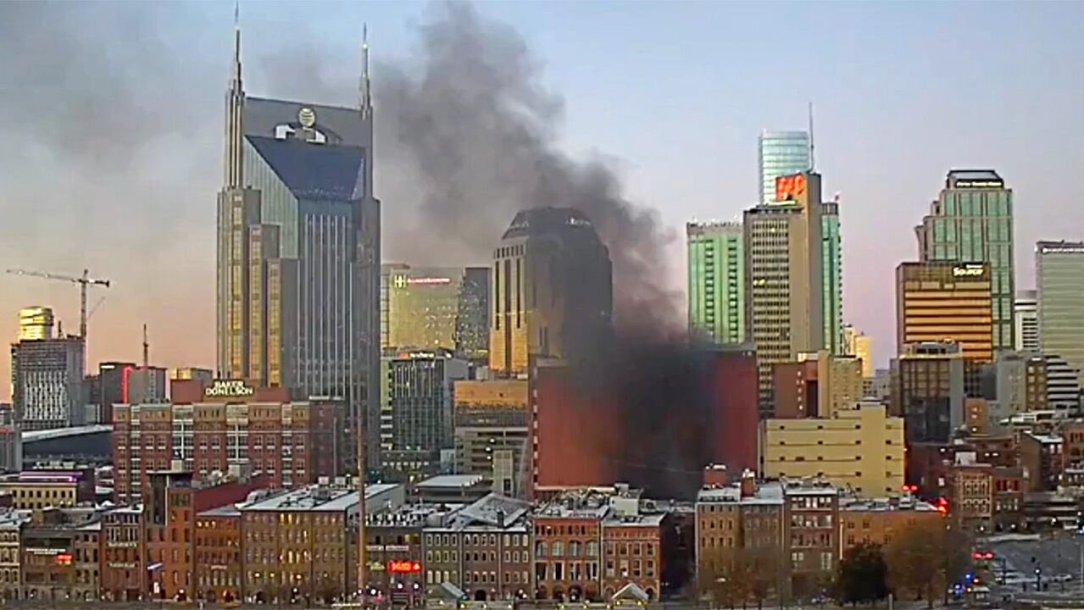 The Massive Nashville Explosion Shakes The Midtown