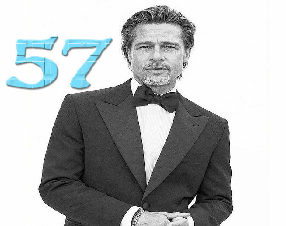 Brad Pitt Celebrates His 57th Birthday