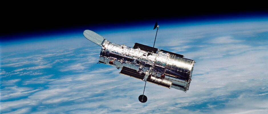 The Hubble Telescope Spotted A Sparkling Galaxy