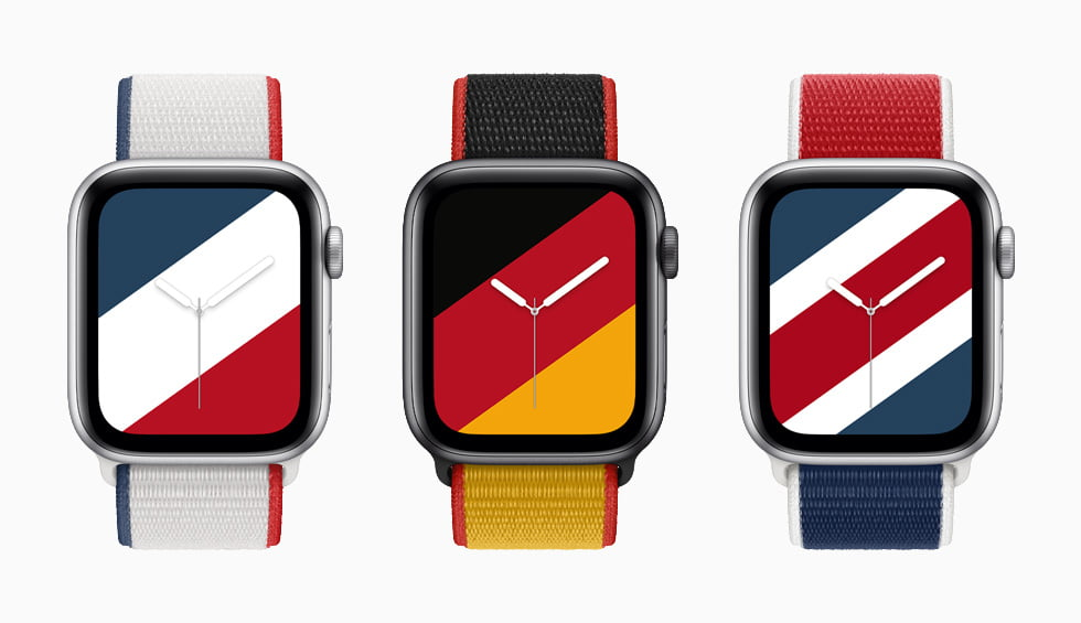 Colorful Apple Watch Bands International Collection 2021