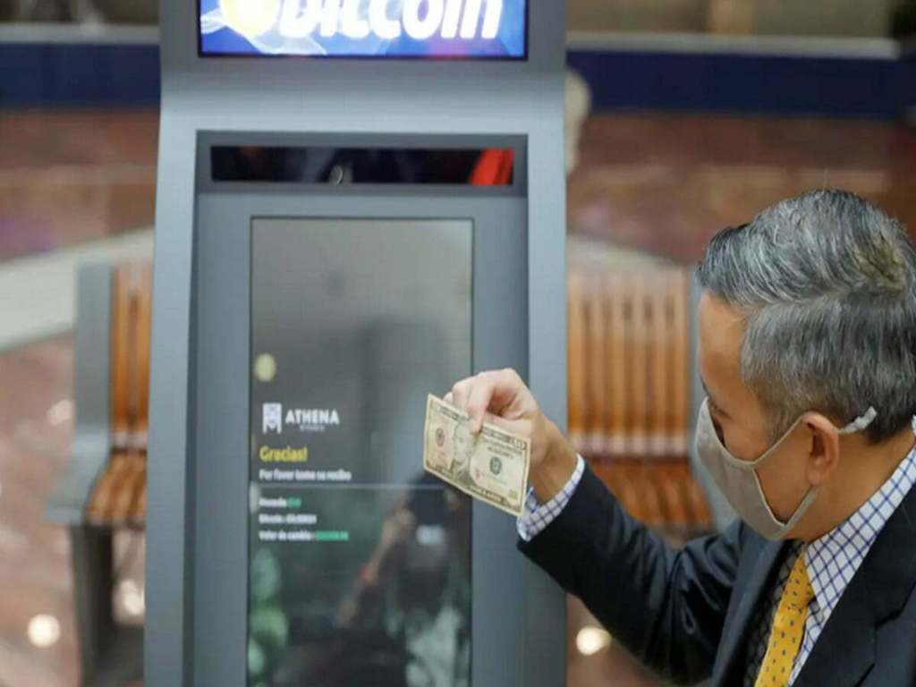 The First Bitcoin ATM