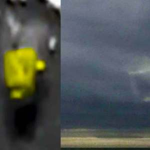 A Mysterious Square Appears In Virginia Sky And Over Ocean 2021
