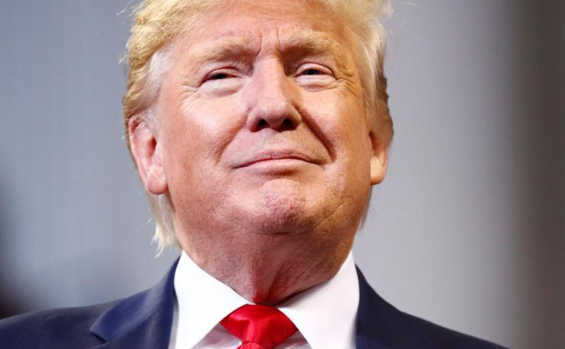 Abseits! Mr. Trump