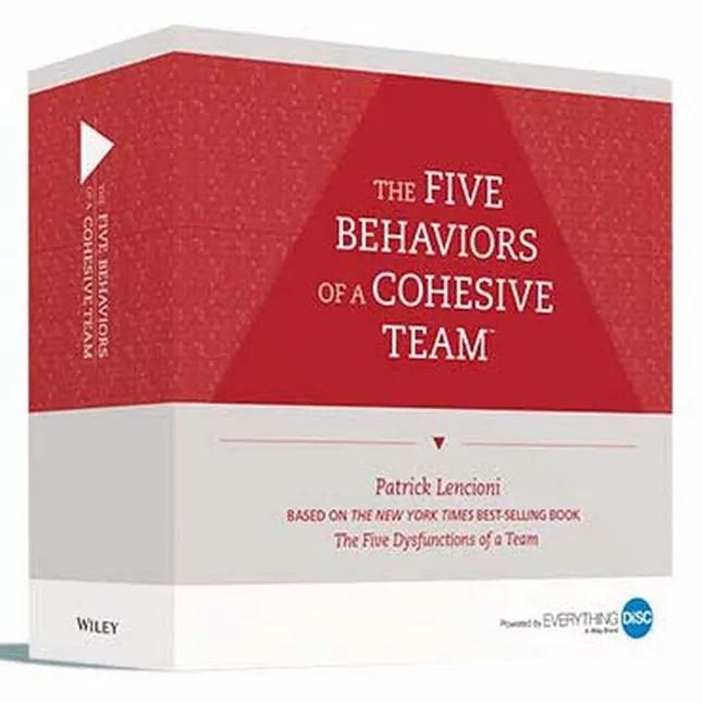 Five Behaviors of a Cohesive Team Facilitation Kit - TH!NK Training