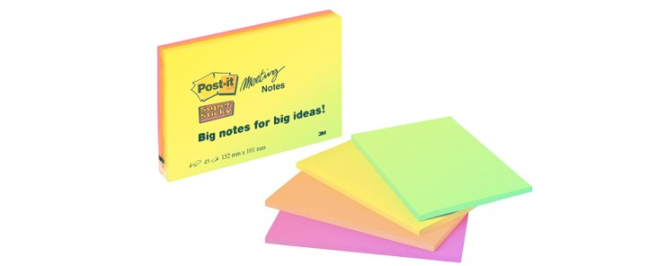 Training Bag Tools - TH!NK Training - 5x7 Post It Notes