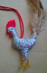 鹿港周月容女士的雞香包