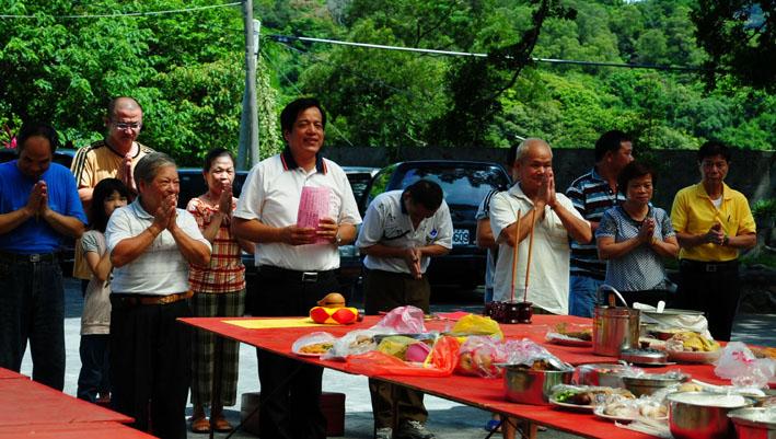 2011年大茅埔聯庄汶水坑元聖宮奉飯(李准維攝)