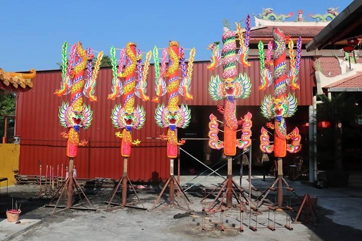 換金花、迎孝子財神香火:馬來西亞金寶古廟的過年儀式