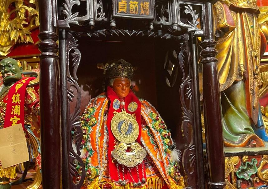 貞節媽聖像(林佳俊提供)
