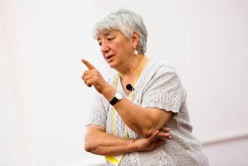 Professor Svetlana Ter-Minasova (Moscow State University, Russia). Photography by Thaddeus Pope