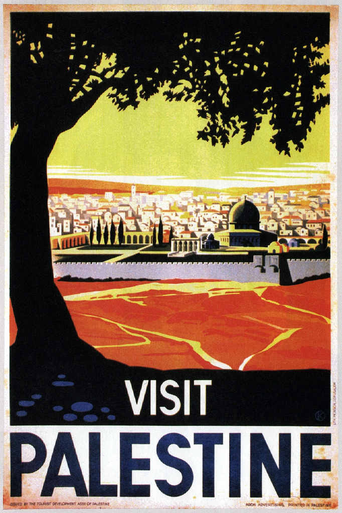 Visit Palestine, Franz Kraus (1936).