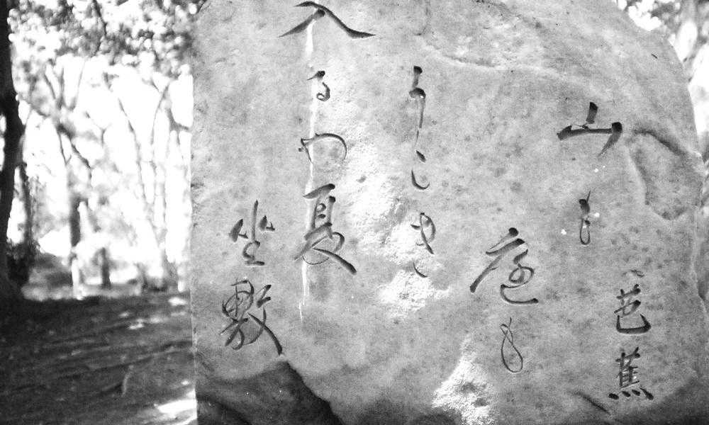 Death poetry Basho haiku Japan THINK