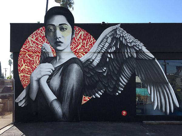 Street Art Orientalists Lizy Dastin Redemption