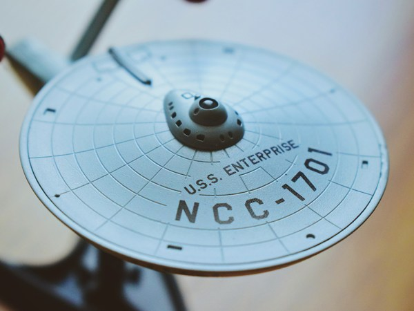 Model of the first Enterprise