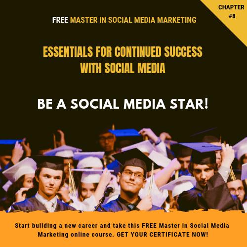 Free Master in Social Media Marketing