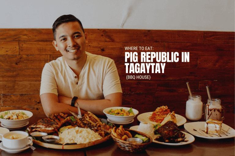 Where to Eat Pig Republic in Tagaytay (BBQ House)