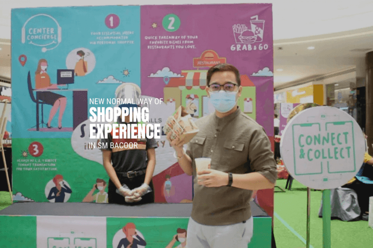 New Normal Way of Shopping Experience in SM Bacoor