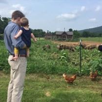 My loves at a farm.