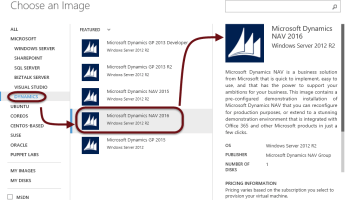 Connecting the Power BI Dynamics NAV Content Package to a