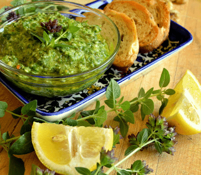 Oregano Pesto Recipe