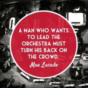 Max Lucado Christian Leadership Quote