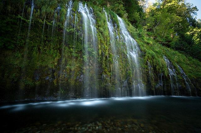 Waterfalls in Northern California Mossbrae Falls