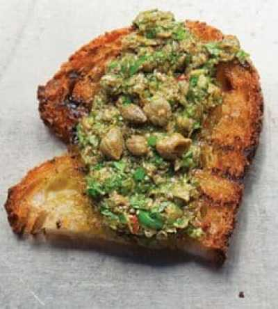 Parsley Pesto With Anchovies Recipe