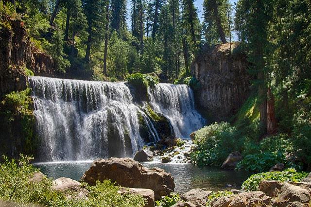Waterfalls in Northern California McCould Falls