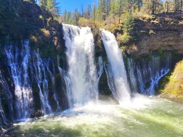 Waterfalls in Northern California