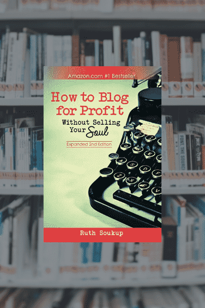 On My Bookshelf: How to Blog for Profit
