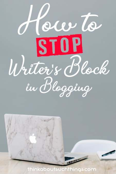 Having writer's block while blogging can be so hard. But with this simple tip you can stop writer's block in its track.  #blogging #Blog #content #writing